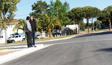 Imagen de Las Toninas: se terminó la pavimentación de la Diagonal Héroes de Malvinas