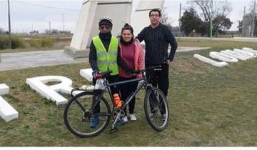 Imagen de La intimidad de los 2 mil kilómetros en bici de un abuelo de 82 años que unió Las Toninas con Tres Lomas