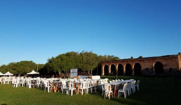 Imagen de Todo listo para el gran concurso de asadores en Madariaga