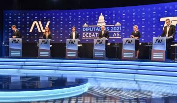 Imagen de Debate bonaerense pre electoral, final picante y cruce entre candidatos