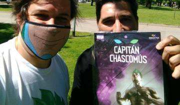 Imagen de El ex arquero Gastón Sessa será parte del equipo de superhéroes en Capitán Chascomús