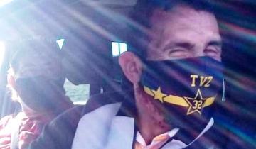 """Imagen de De cuarentena en un campo de Maipú, """"Carlitos"""" Tevez quiso ir a jugar al golf a Tandil pero le impidieron el ingreso"""