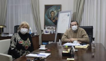 """Imagen de Coronavirus en Argentina: el intendente Etchevarren estimó que """"en Dolores debemos tener unos 800 casos"""" de Covid-19"""