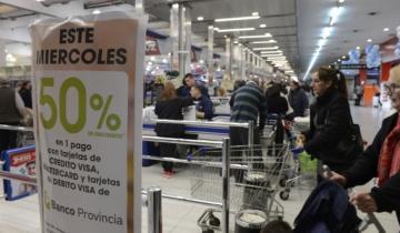Imagen de El Bapro confirmó que el programa de descuentos del 50% en supermercados no continuará