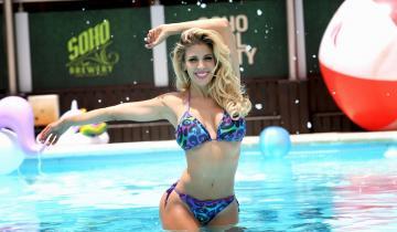 Imagen de Virginia Gallardo, la famosa elegida en Dolores para el Carnaval del Sol