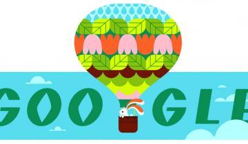 Imagen de El equinoccio de primavera llega al doodle de Google