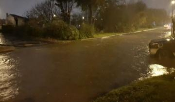 Imagen de Por el temporal ya van dos días sin clases en Mar del Plata