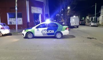 Imagen de Dos motos protagonizaron un choque en el centro de Dolores
