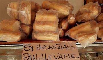 Imagen de Ejemplo de solidaridad en Lezama: una panadería regala pan en tiempos de cuarentena
