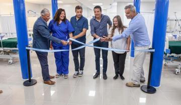 Imagen de Inauguraron un nuevo sector de guardia en el Hospital Municipal de Mar de Ajó