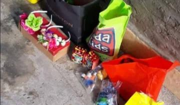 Imagen de Un niño de Dolores regala juguetes a quienes lo necesiten