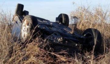 Imagen de Ruta 11: un hombre murió tras un vuelco a la altura de General Lavalle