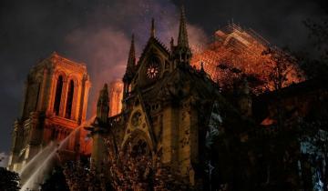 Imagen de Según el Gobierno francés, Notre Dame se salvó de derrumbarse por media hora