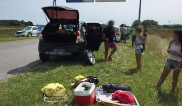 Imagen de Una persona herida tras un accidente en Ruta 74