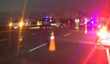 Imagen de Fuerte choque en Ruta 2: hay heridos