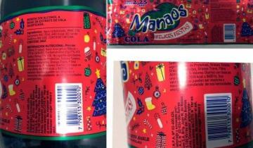 Imagen de Anmat prohibió la venta de una lote de gaseosas Manaos