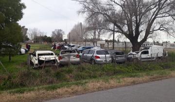 Imagen de Accidente de El Pepo: se hicieron las pericias oculares en la Ruta 63 y en la camioneta