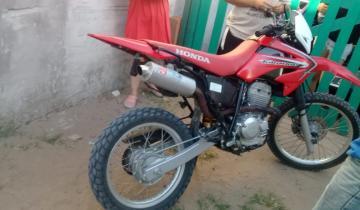 Imagen de Encontraron en Mar De Ajó una moto que había sido robada en General Madariaga