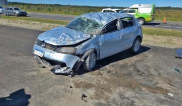 Imagen de Otra vez la Ruta 11: un muerto y ocho heridos por un choque a la altura de Costa del Este