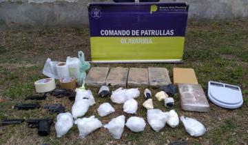 Imagen de Olavarría: hallan más de 7 kilos de cocaína en una cochera