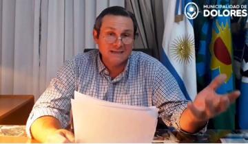 Imagen de El intendente de Dolores desmintió que vaya a cobrar tasas especiales a los productos ganadores y se diferenció de Echarren
