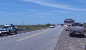Imagen de Cinco autos chocaron en la Ruta 11