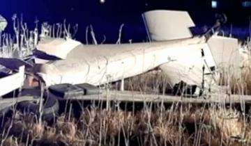 Imagen de Murió un piloto tras estrellarse con su avioneta en Escobar
