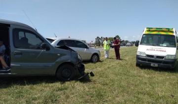 Imagen de Choque en cadena en la Ruta 56: no se registraron heridos