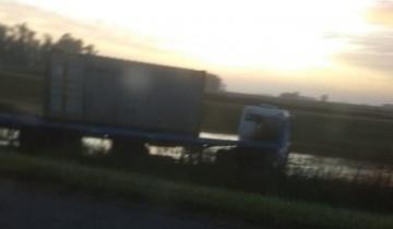 Imagen de Despiste con suerte en la Autovía 2: no hubo heridos