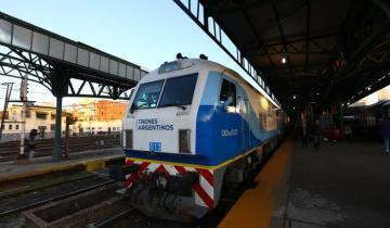 Imagen de Aseguran que creció un 11% la cantidad de pasajeros del tren que une a Mar del Plata con Buenos Aires