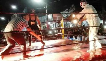 Imagen de El show de lucha libre de La Masa llega a San Clemente y Mar de Ajó