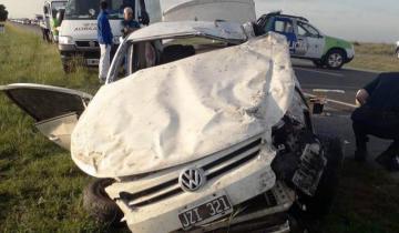 Imagen de El jefe de Caballería de Mar del Tuyú sufrió un grave accidente en la Ruta 11