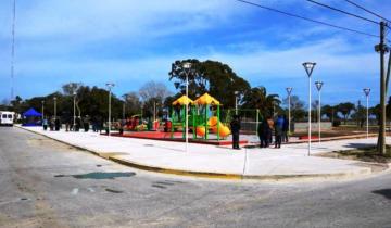 Imagen de General Lavalle: se inauguró oficialmente la plaza de la costanera