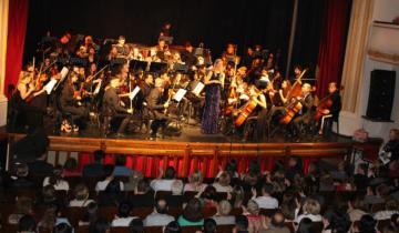 Imagen de Se presentó la Orquesta Sinfónica Juvenil en el Teatro Unione