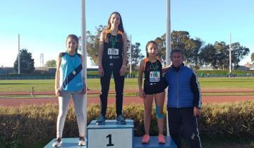 Imagen de Una alumna de la Escuela Municipal de Atletismo de La Costa es campeona provincial