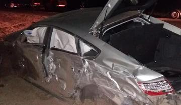 Imagen de Cuatro heridos tras un fuerte accidente en la Ruta 11