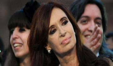 Imagen de Cristina Kirchner, Máximo y Florencia, a juicio oral