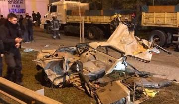 Imagen de Tragedia en Monte: desafectaron a los policías que persiguieron al auto accidentado