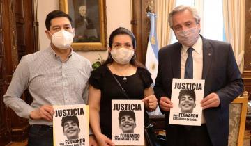 Imagen de El crimen de Villa Gesell: Alberto Fernández recibió a los padres de Fernando Báez Sosa