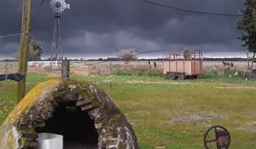 Imagen de Qué es la turbonada, el fenómeno meteorológico que hoy se registró en casi toda la región