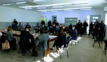 Imagen de Hicieron una mesa de diálogo en la cárcel de Dolores para hablar sobre el coronavirus