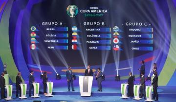 Imagen de Cómo quedaron conformadas las zonas de la Copa América Brasil 2019