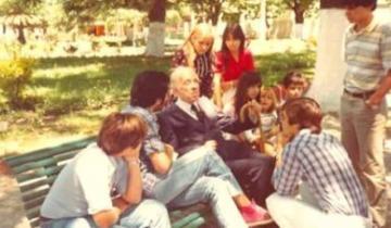 Imagen de Día del Lector: aquella entrañable visita de Jorge Luis Borges a Dolores