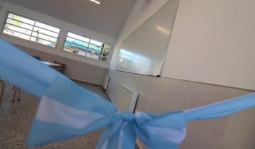 Imagen de Los estudiantes ya pueden disfrutar de dos nuevas aulas en la Secundaria N° 13 de Mar del Tuyú