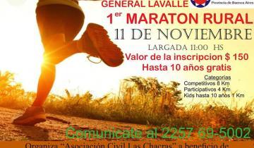 Imagen de Abrió la inscripción para la 1ª Maratón Rural en General Lavalle
