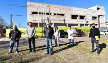 Imagen de Chascomús culminará la Maternidad y Pediatría del Hospital Municipal con financiamiento de la Nación