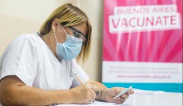 Imagen de La Provincia: enviaron más de 1 millón de turnos de vacunación para los próximos días