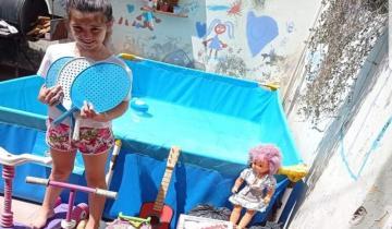 Imagen de ¡Un gesto solidario!: Uma, la nena que dona sus juguetes para Navidad