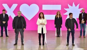 Imagen de Elecciones 2021: Alberto Fernández y Cristina Kirchner presentaron los candidatos del Frente de Todos