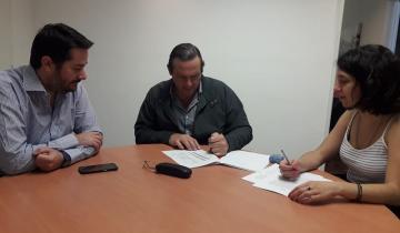 Imagen de Etchevarren anunció que se construirán otras 38 cuadras de pavimento en Dolores